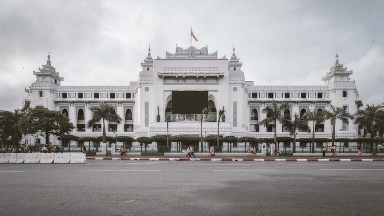 City Hall - streetsofyangon, yangon - khz | ello