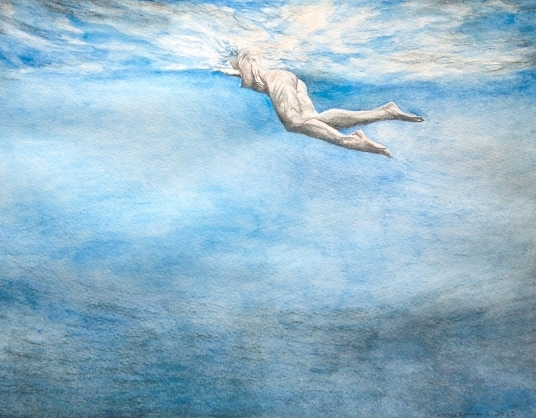 Watercolor paper - art, watercolor - greeksauce | ello