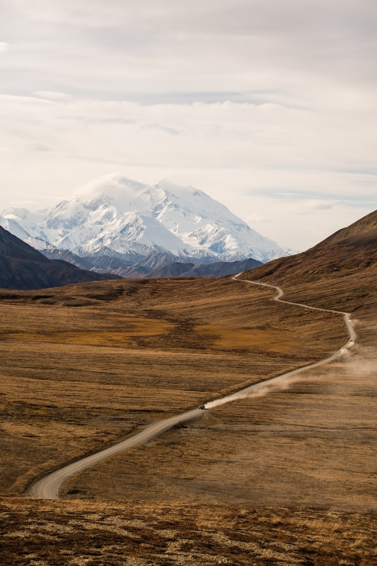 Denali clear day September - mountains - aphotosmith | ello
