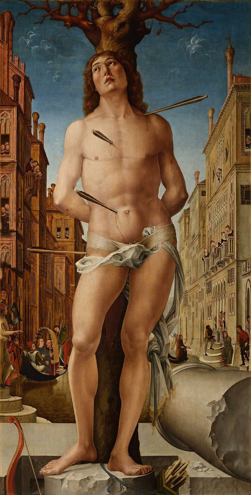 Liberale da Verona: Saint Sebas - arthurboehm | ello