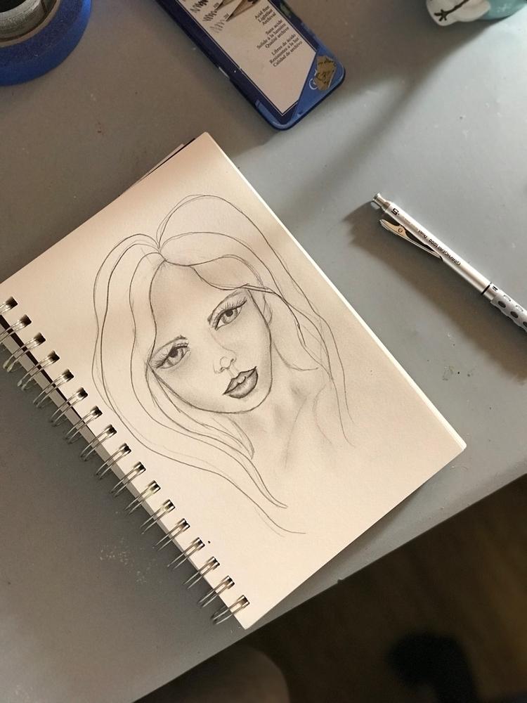 work sketching - tmariehilton | ello