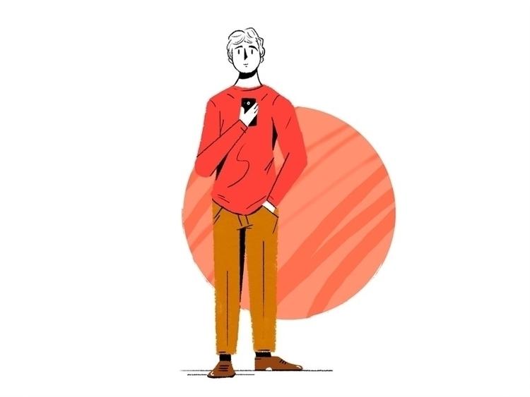 Character 2018 - illustration, ilustracion - martincorbo | ello