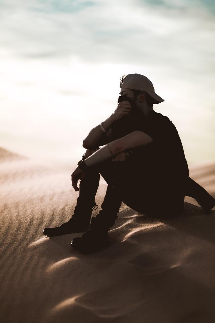 Desert vibes - desert, portrait - andrewpham | ello
