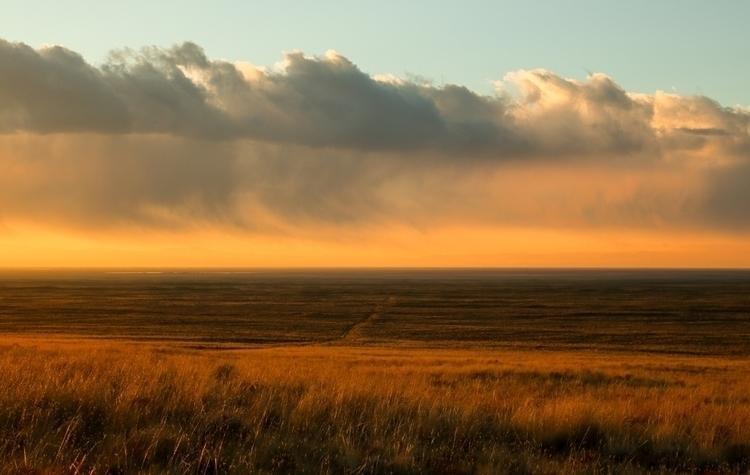 Middle America - landscape, sky - katherineacart | ello