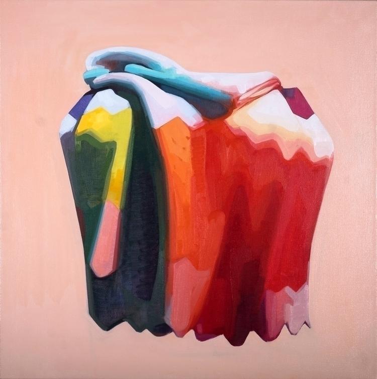 Adorabilis, oil canvas, 36x36 - contemporaryart - feliciaforte | ello
