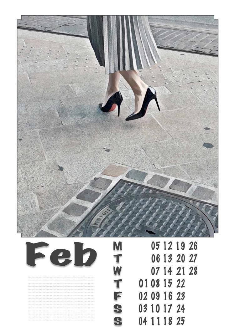 February - Legs, Heels, Photography - ziolele | ello
