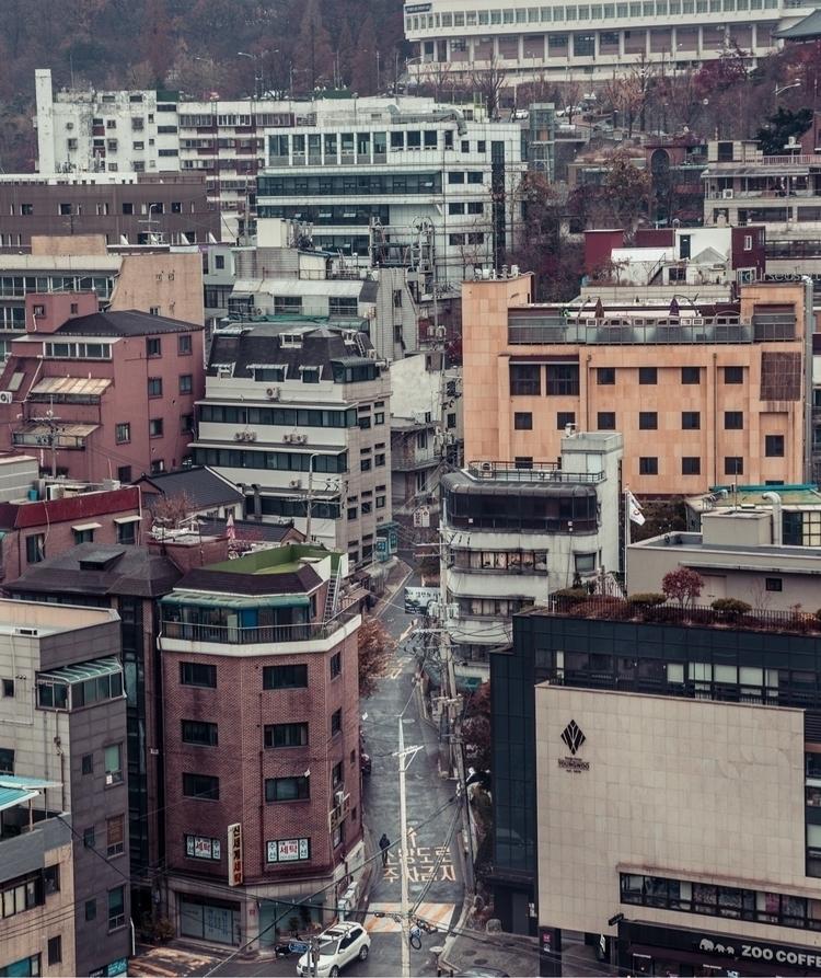 Crowded streets - treywalker | ello