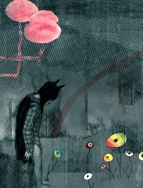 """""""boy""""   graphite, digital 2005 - gromero   ello"""