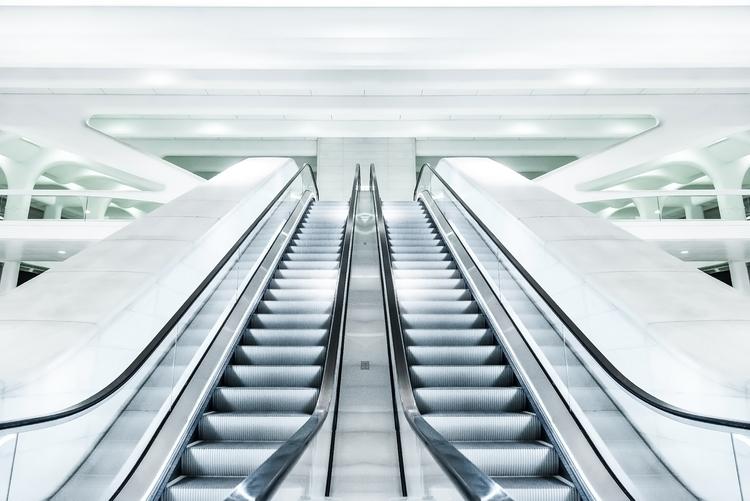 escalator, modern, technology - hoovertung   ello