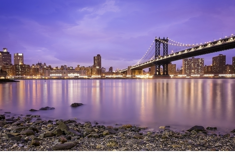 dumbo, manhattan, brooklyn, skyline - hoovertung | ello