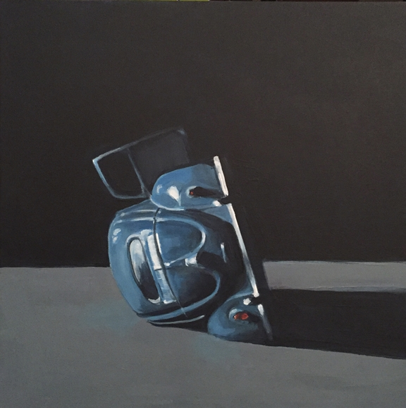 "jeffbessart ""Blue Bug"" 20""x20""  - jeffbessart 