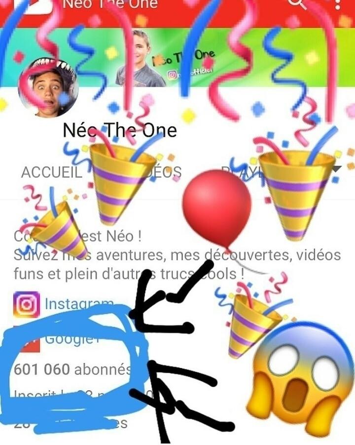 Vous êtes 600 000 abonnés sur m - neotheone | ello