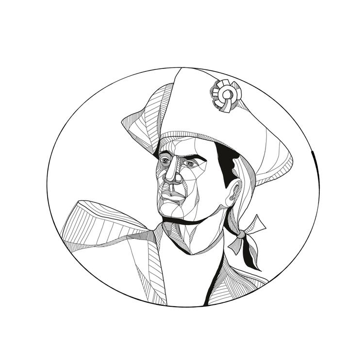 American Patriot Doodle Art - illustration - patrimonio | ello