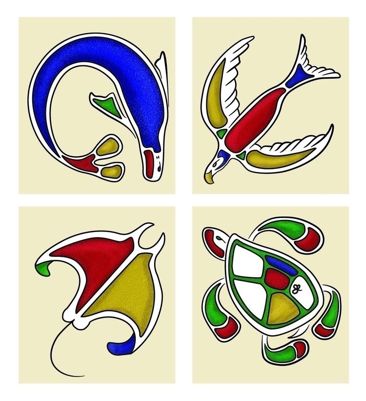 Tonas, spirit animals desert - seaturtle - kumavilla | ello