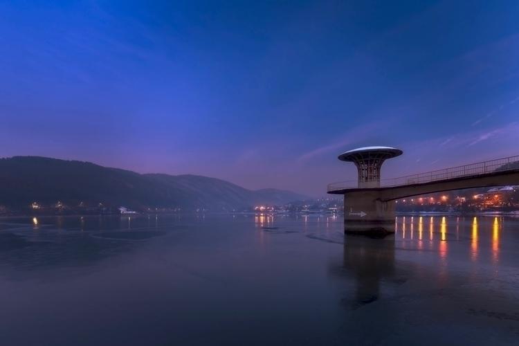Blue hour Pancharevo lake - vladtsenev | ello