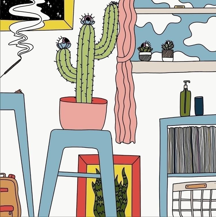 "series ""Rooms Eyes"". spatially  - oktdesign   ello"