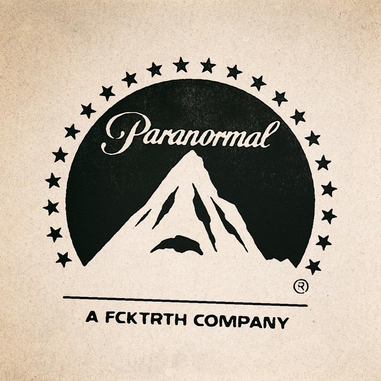 paranormal, logo, fcktrth - chriscorrado | ello