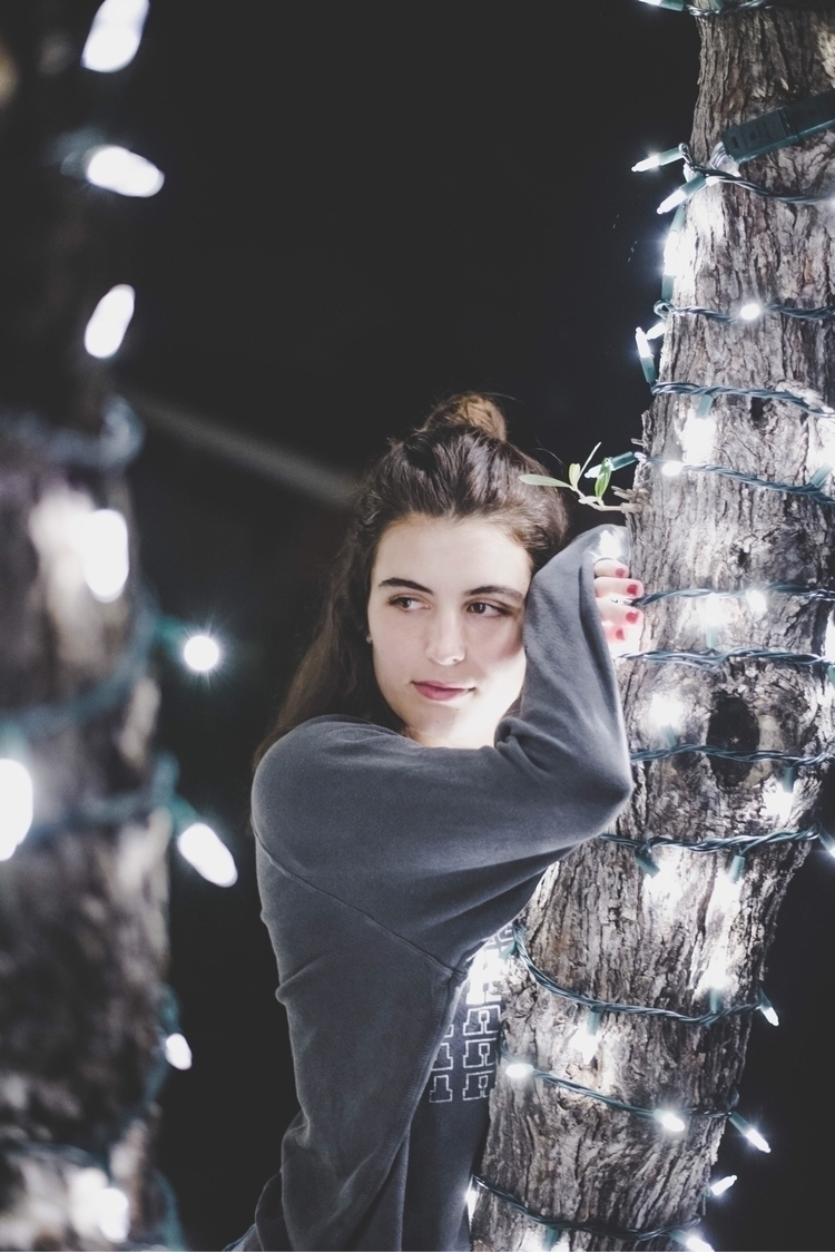 Fun Xmas lights - portrait - phamousben | ello