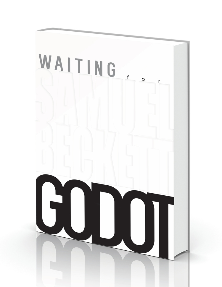 Waiting Godot Bookcover Design  - minimalist | ello