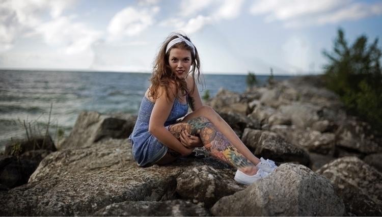 Mermaid Sea  - ellonew, portraitmode - lisha_colleen   ello
