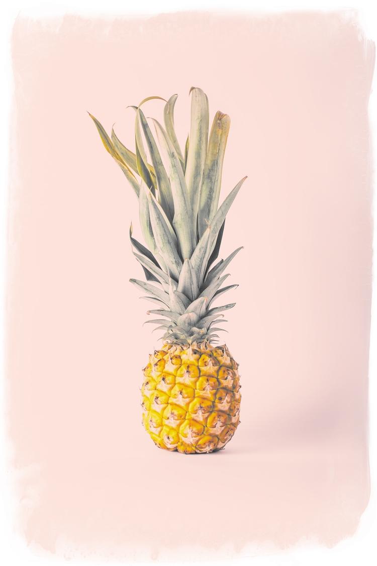 pineapple, foodphotography, photoart - miyuki_mardon | ello