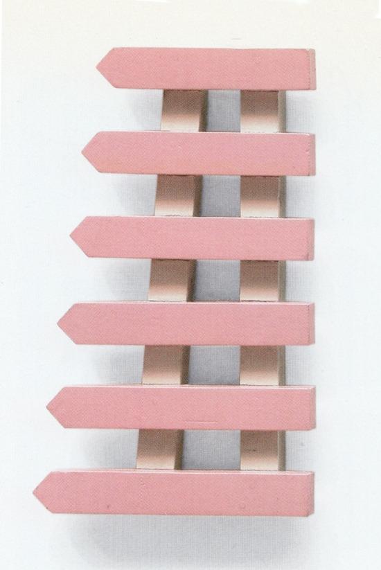 Mel Bochner, Fence Piece, 1966 - modernism_is_crap | ello