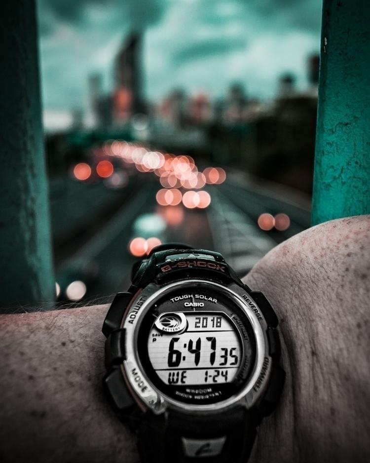 time - gshock, watch, contentcreator - g-river | ello