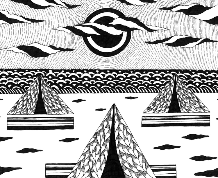 """Journey Unknown"" book illustra - randidrozd | ello"