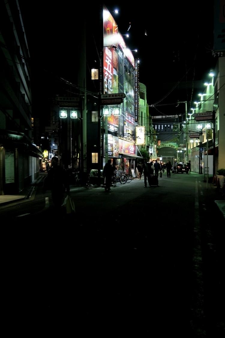 Osaka Namba street - visitorq | ello