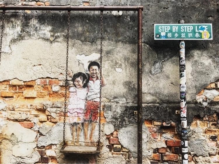 Street Art - Penang - melaniedonnahee | ello