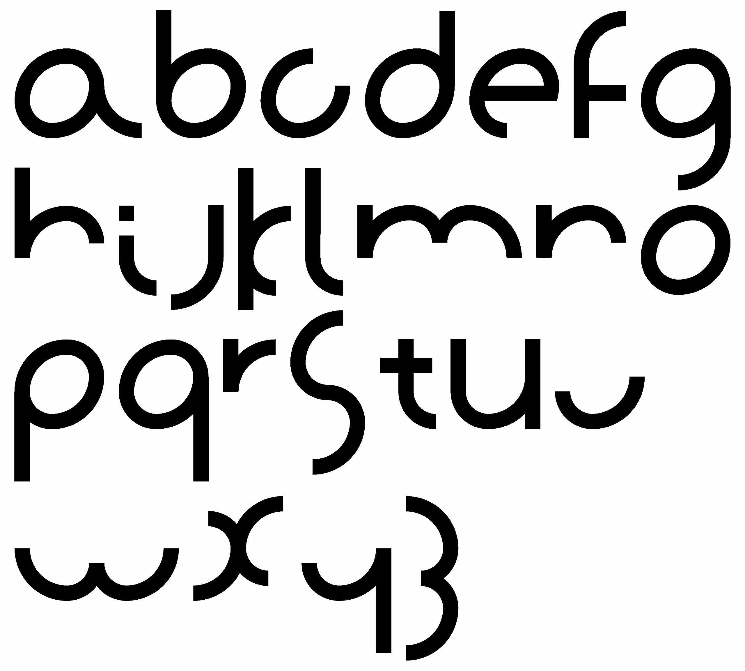 minimale - typeface conundrum.  - charles_3_1416 | ello