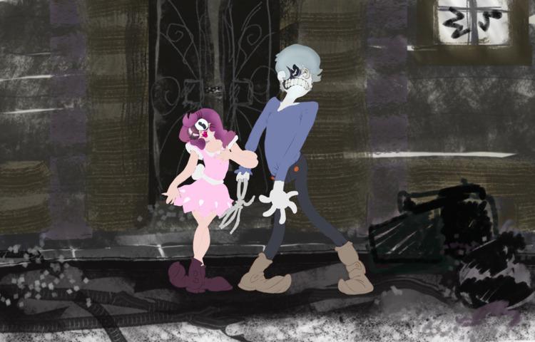 zombi meh, fanart boyfriend dea - mesencephaleisole | ello