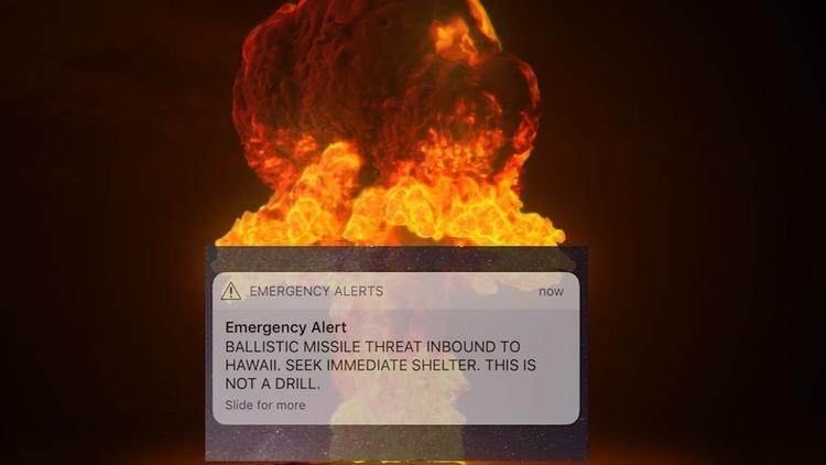 Alarma de ataque misil contra H - codigooculto | ello