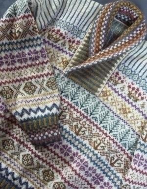 garment shawl collar, hand-fram - goodengansey | ello