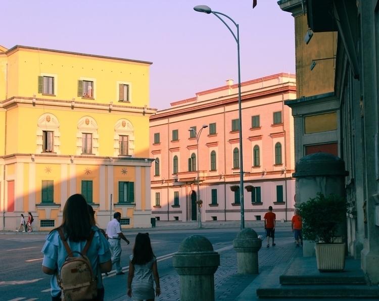 Sweet pastel dreamland - city, architecture - alda_kw | ello