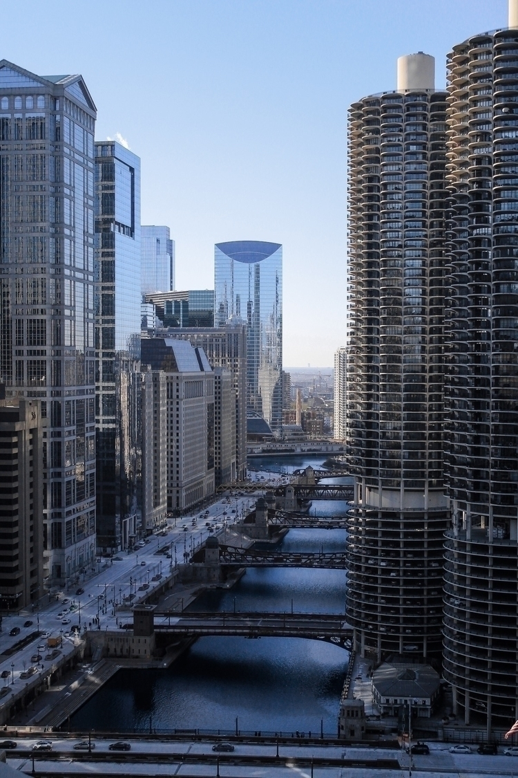 Chicago, Photography, MarinaCity - ninasventure | ello