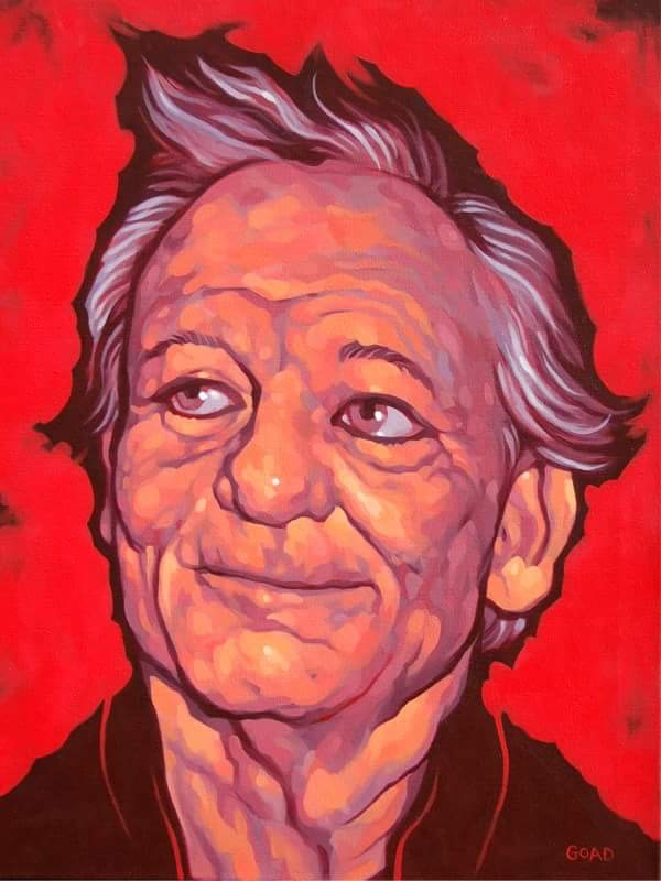 Acrylic painting Bill Murray - billmurray - vincentvangoad | ello