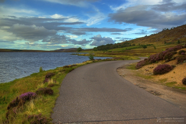 road Scotland - photography, hdr - azonic | ello