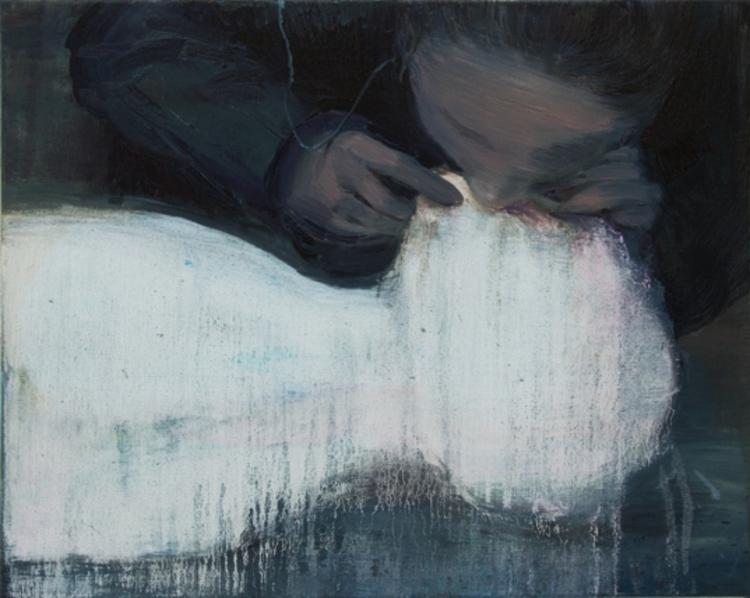 Xie Lei Blow 2011 - artist, painting - lilavert | ello