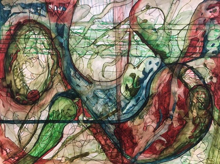 Untitled 412. 18 24 Watercolor - drake94952 | ello