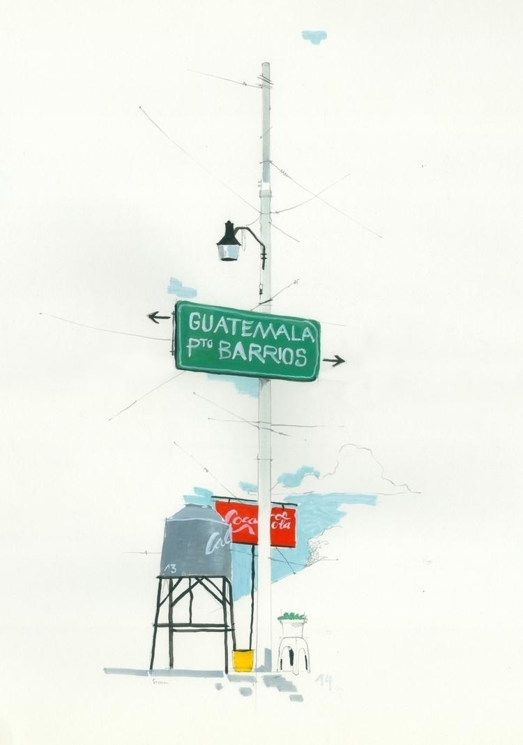 road Puerto Barrios – Guatemala - simonhuesler | ello