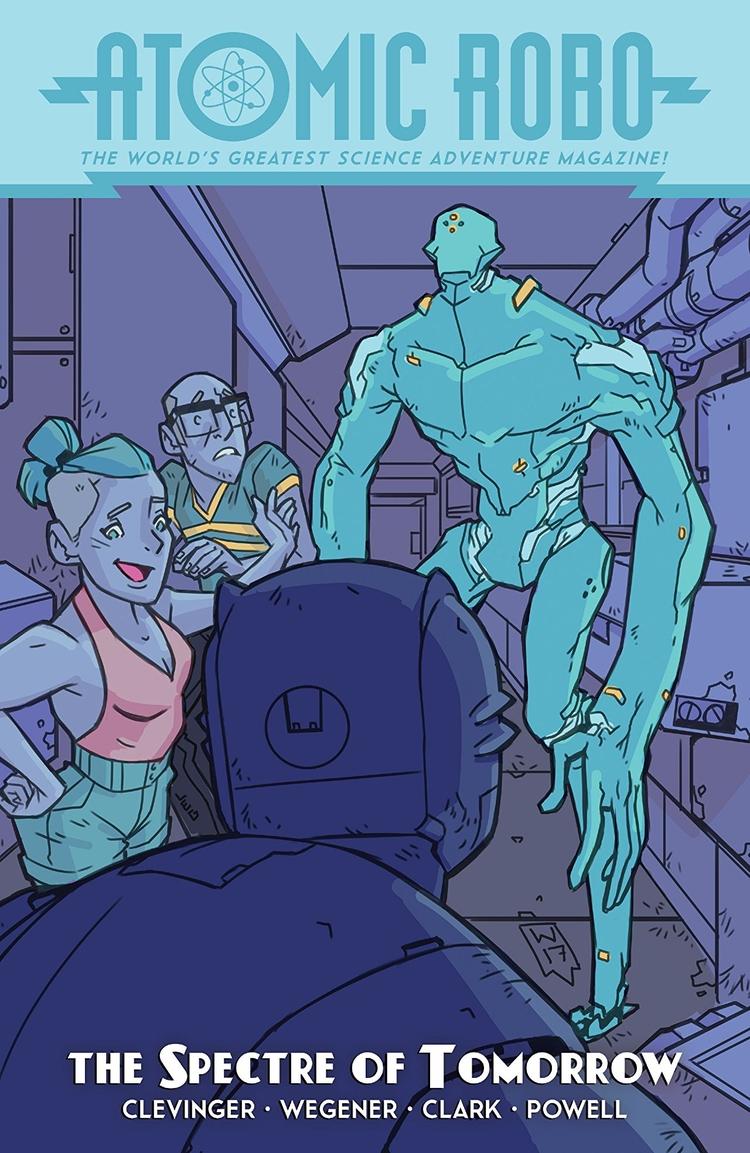 Atomic Robo Spectre Tomorrow ID - oosteven   ello