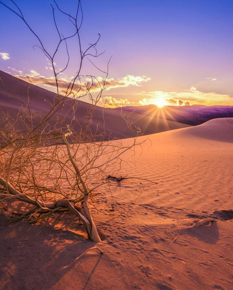 Eureka Dunes, Death Valley CA - johnnyvisuals | ello