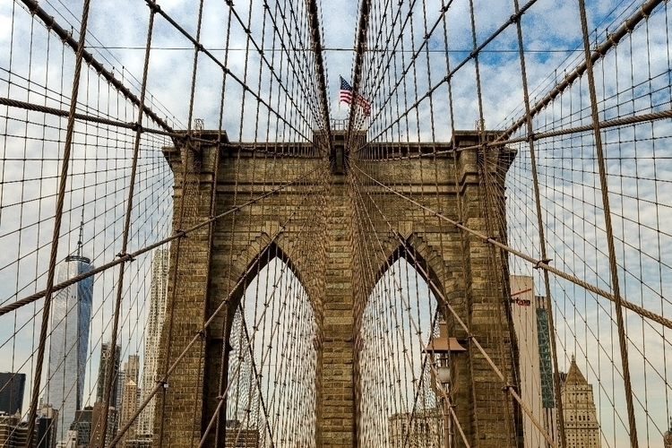 brooklynbridge, newyorkcity, photo - b-ryanv93 | ello