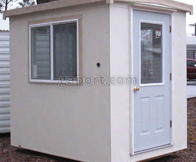 Georgia Portable Buildings aim  - guardhouses   ello