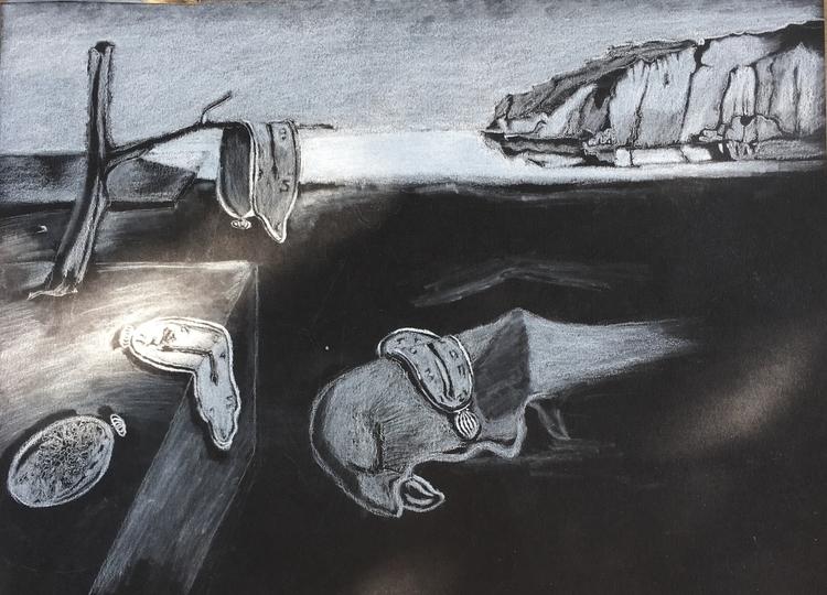 Persistence Memory Dalí Inspire - mluna23 | ello