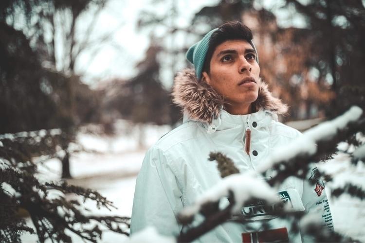Snow days - photography, snow, nature - kevfreefly | ello
