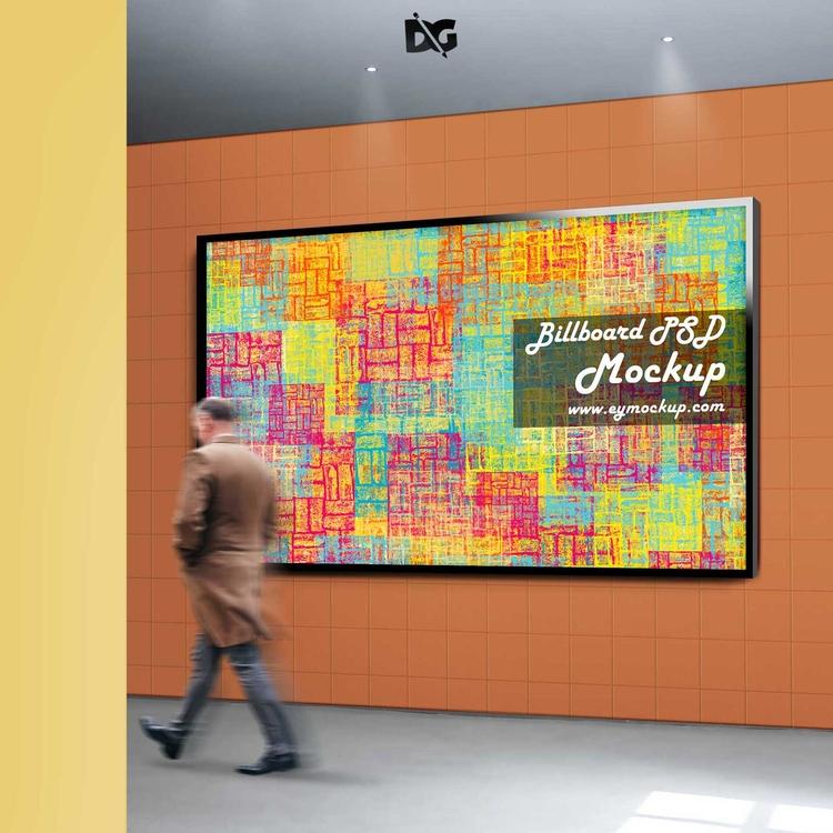 Free Bus Stand Billboard Mockup - crack7245 | ello