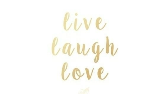 Live Laugh Love - thankful, grateful - paulgoade | ello