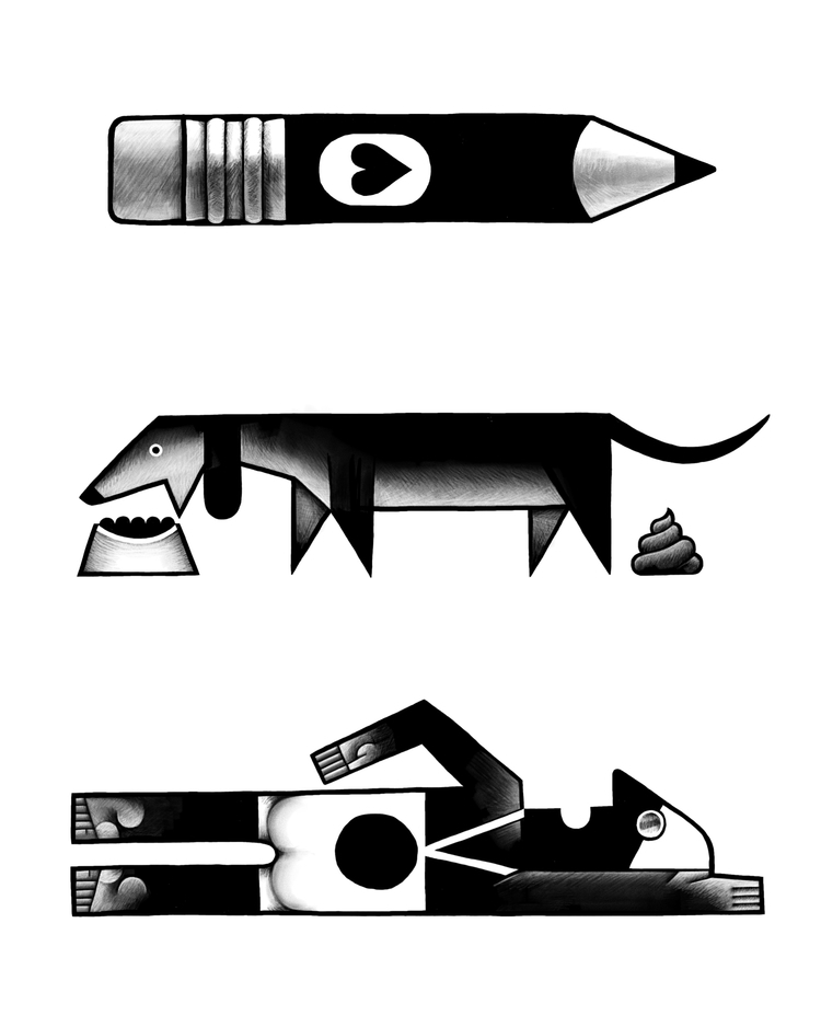 Spot illustration section websi - miriamdraws | ello